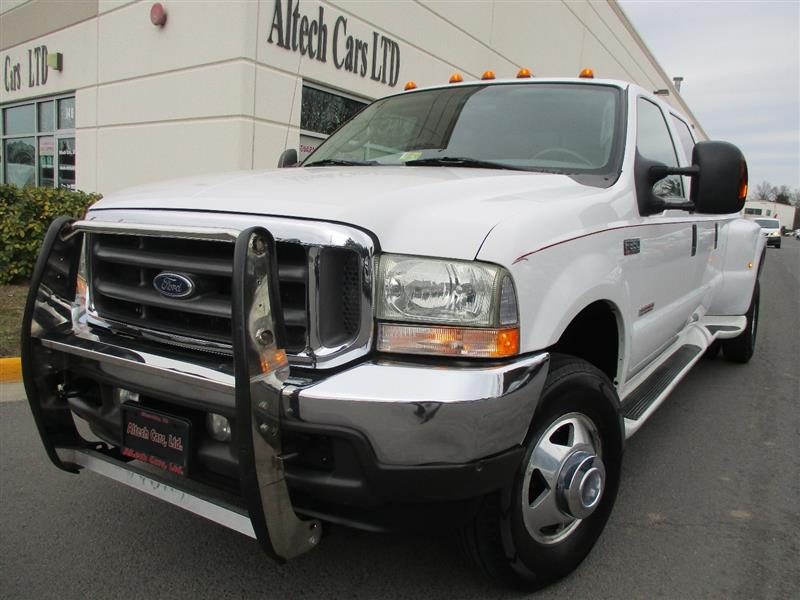 2004 FORD SUPER DUTY F-350 DRW  LARIAT DUALLY