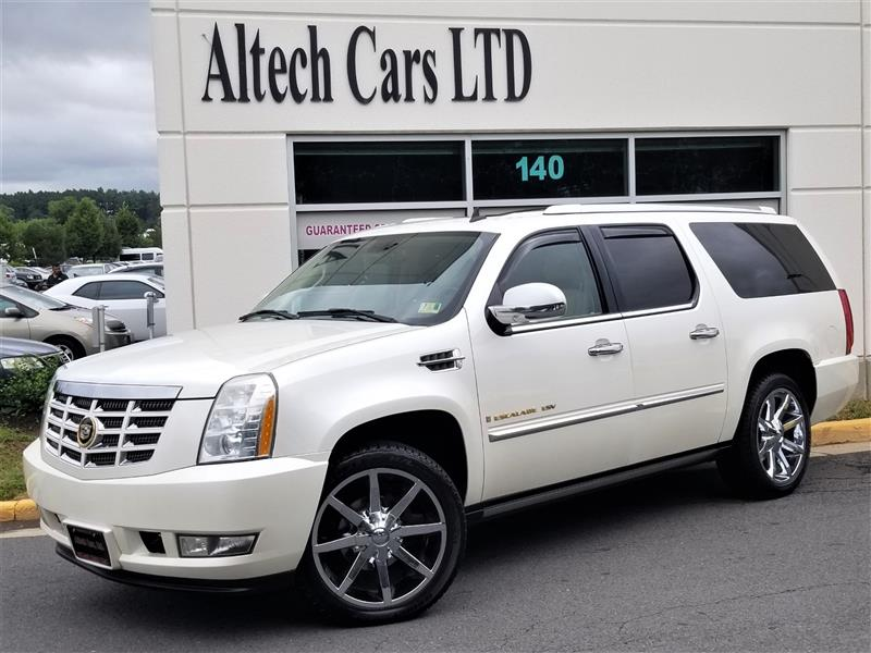 2007 CADILLAC ESCALADE ESV Premium w/ Navi, 2 DVDs and Back-Up Camera