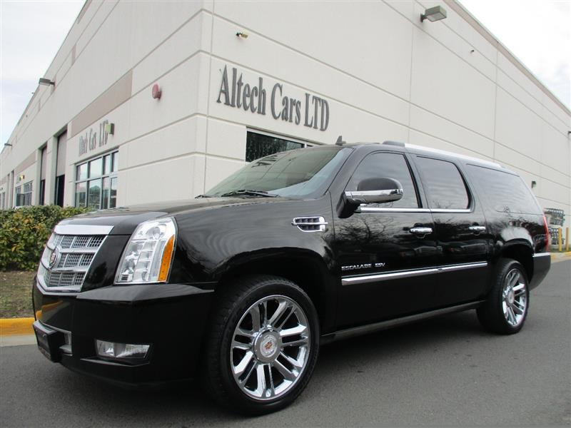 2013 CADILLAC ESCALADE ESV Platinum Edition w/ Nav-4 Dvd-Backup camera