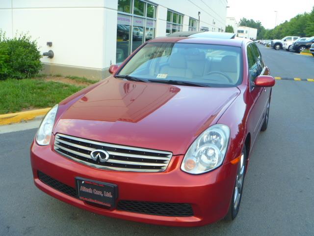 2006 INFINITI G35 X AWD