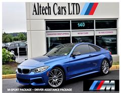 2015 BMW 4 SERIES 428i w/M SPORT PACKAGE