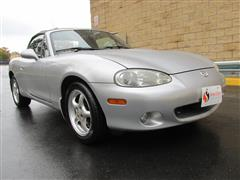 2002 MAZDA MX-5 MIATA Cloth/LS/SE