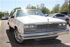 1986 CHEVROLET EL CAMINO Base