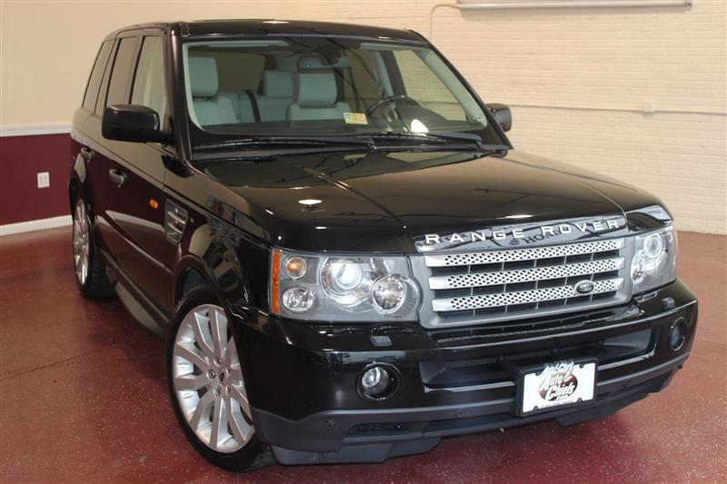 2008 LAND ROVER RANGE ROVER SPORT SUPERCHARGED / 20-INCH WHEELS / NAVI