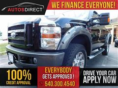 2009 FORD SUPER DUTY F-350 SRW FX4 EXTENDED CAB