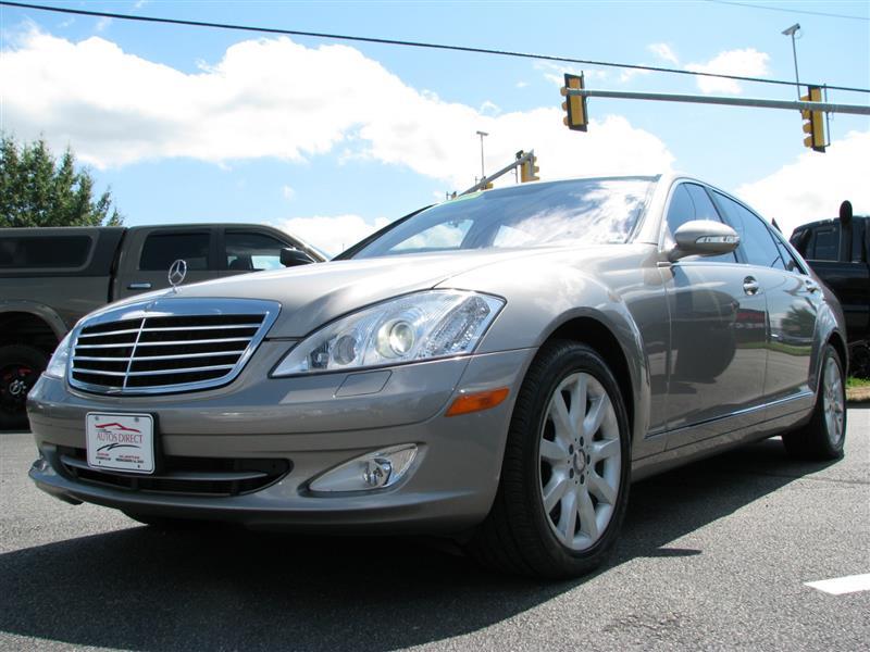 2008 MERCEDES BENZ S CLASS 5.5L V8 | FREDERICKSBURG , VIRGINIA | Autos  Direct Of Fredericksburg   VA   22408