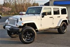 2013 JEEP WRANGLER UNLIMITED Sahara Lifted 4x4 Hard Top