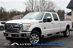 2011 FORD SUPER DUTY F-350 SRW 6.7L D Crew Cab Long Bed w Navi