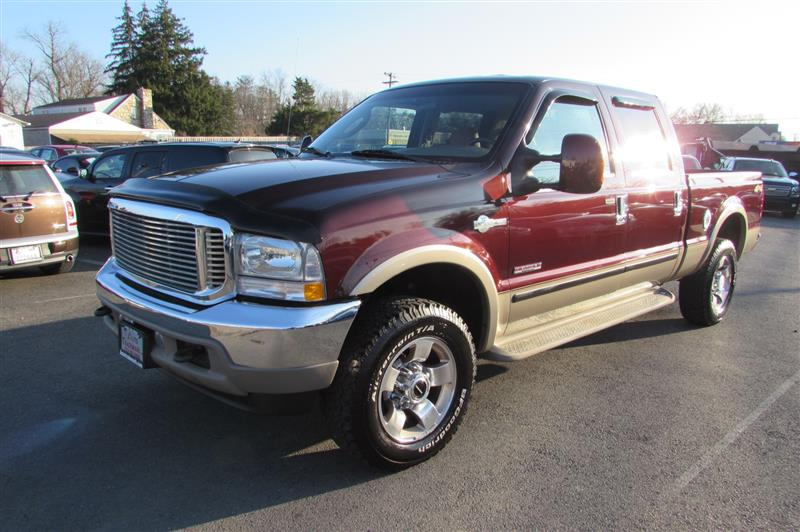 2004 FORD F250 4X4 KING RANCH CREW-CAB