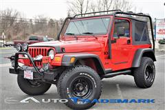 2002 JEEP WRANGLER X 2 Dr 4X4 Soft Top