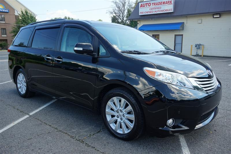 2013 TOYOTA SIENNA LIMITED AWD W/NAVI-DVD-DUAL ROOF