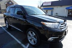 2012 TOYOTA HIGHLANDER Limited, 4x4, 3rd row seating