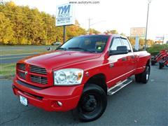 2008 DODGE RAM 3500 SLT DIESEL 4X4 DUALLY TRUCK
