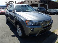 2014 BMW X3 xDrive 35i Navigation Pano
