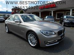 2015 BMW 7 SERIES 750i Xdrive B7