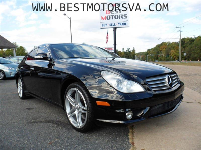 2008 mercedes benz cls class cls 550 sport pachage 4d. Black Bedroom Furniture Sets. Home Design Ideas