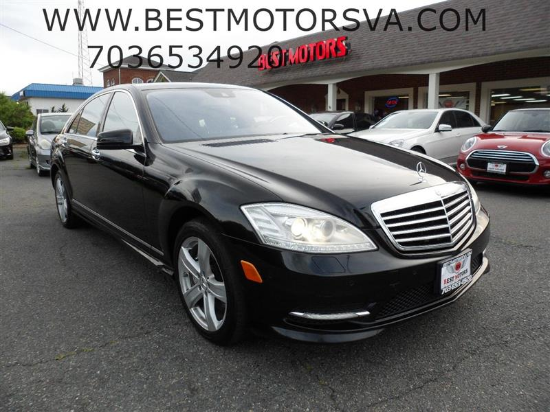 2010 MERCEDES-BENZ S-CLASS S550 V4 Premium II Package