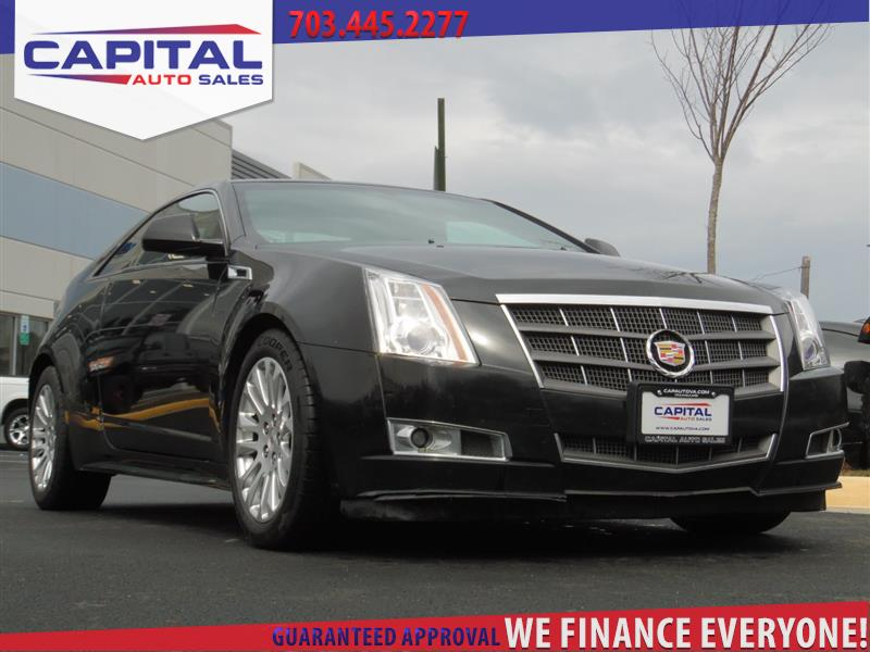 2011 CADILLAC CTS COUPE Premium