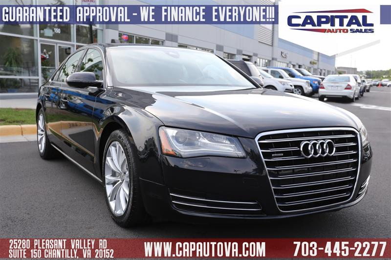 AUDI A L CHANTILLY VIRGINIA Capital Auto Sales VA - Audi car loan calculator