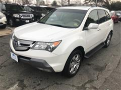 2009 ACURA MDX Technology & Entertainment Pkg.