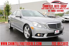2010 MERCEDES-BENZ E-class Luxury 4matic awd