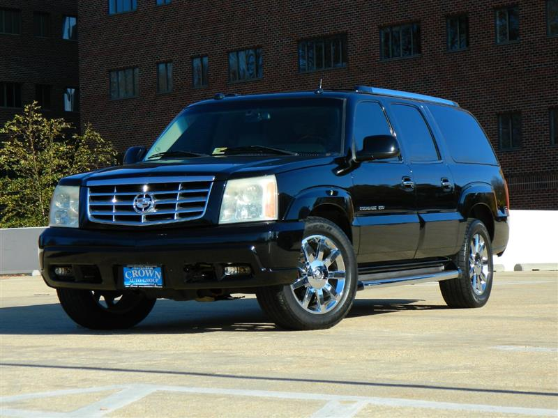 2004 CADILLAC ESCALADE ESV Platinum w/ Navi, 2 DVDs and Back-Up Camera