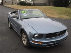 2007 FORD MUSTANG Deluxe/Premium