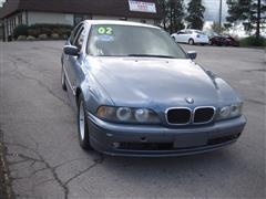 2002 BMW 5 SERIES 525iA