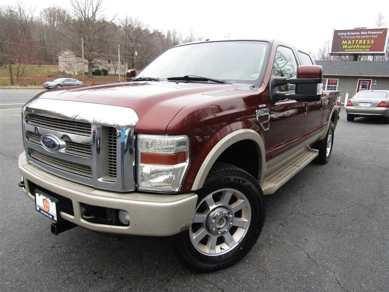 2008 FORD SUPER DUTY F-250 SRW King Ranch Crew Cab 4WD
