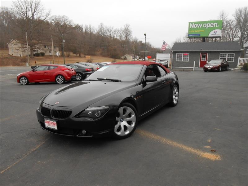 2006 BMW 6 SERIES 650Cic