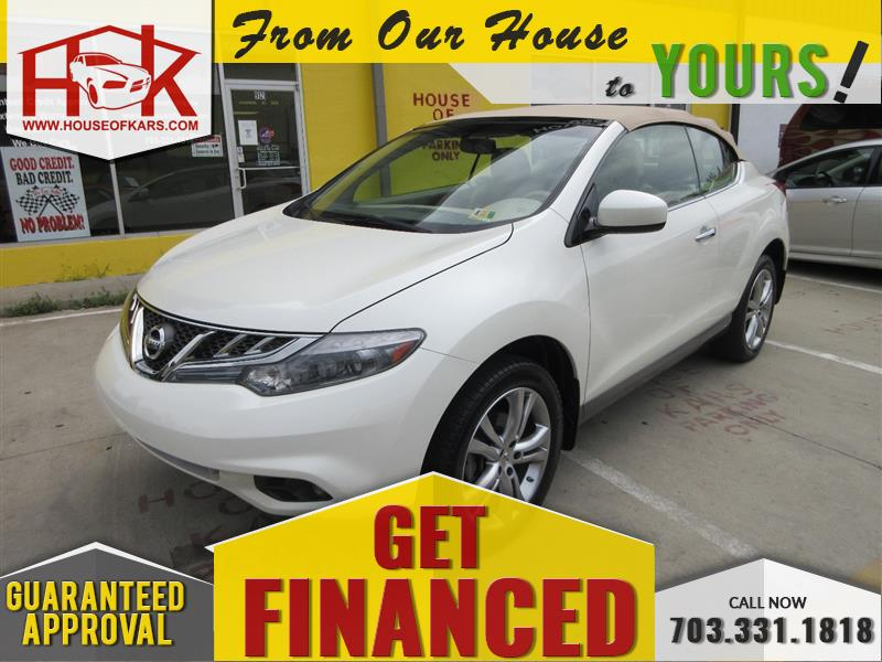 2011 NISSAN MURANO CROSSCABRIOLET with Navigation