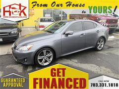 2012 LEXUS IS 250 Sports Sedan