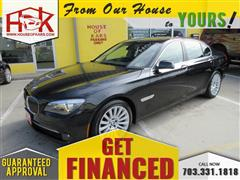 2012 BMW 7 SERIES 750i xDrive