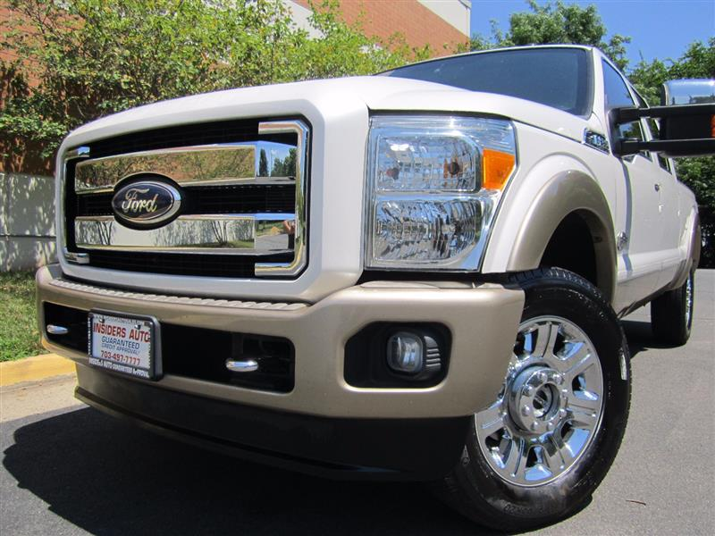 2012 FORD SUPER DUTY F-250 SRW XL/XLT/Lariat/King Ranch