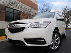 2016 ACURA MDX ADVANCE w/TECHNOLOGY& ENTERTAINMENT SH-AWD