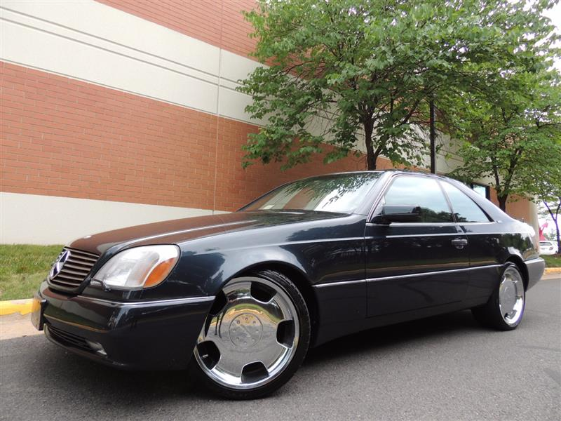 1996 mercedes s600 coupe for sale