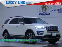 2016 FORD EXPLORER Platinum