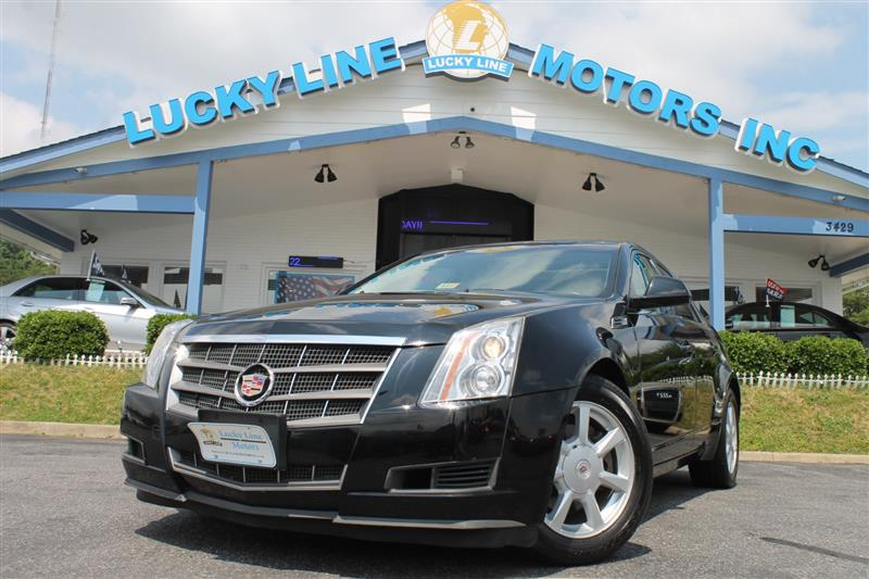 2008 CADILLAC CTS High Feature--NAV