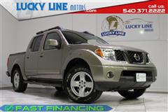 2005 NISSAN FRONTIER 4WD LE