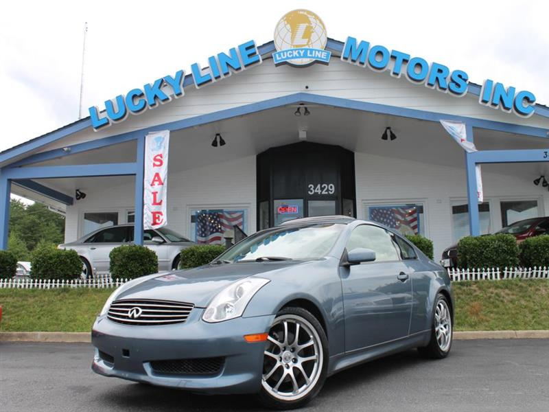 2006 INFINITI G35 FULLY LOADED