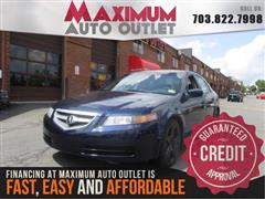 2006 ACURA TL 6 Speed Manual with Nav