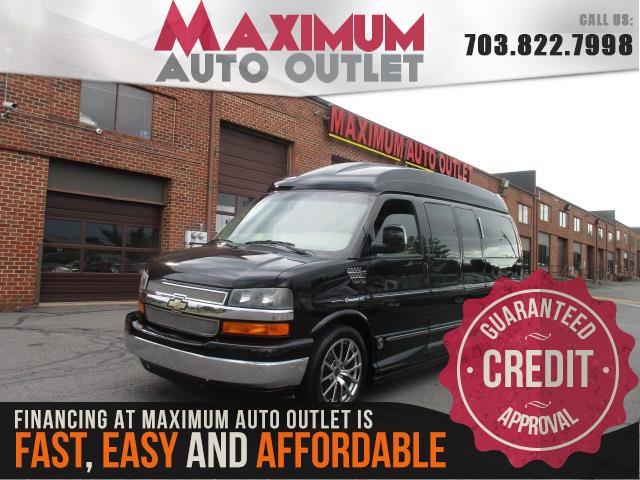 2012 CHEVROLET EXPRESS PASSENGER Conversion Van Limited SE