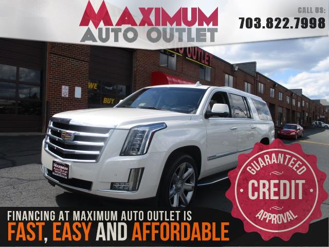 2015 CADILLAC ESCALADE ESV LUXURY W/NAVIGATION & DVD