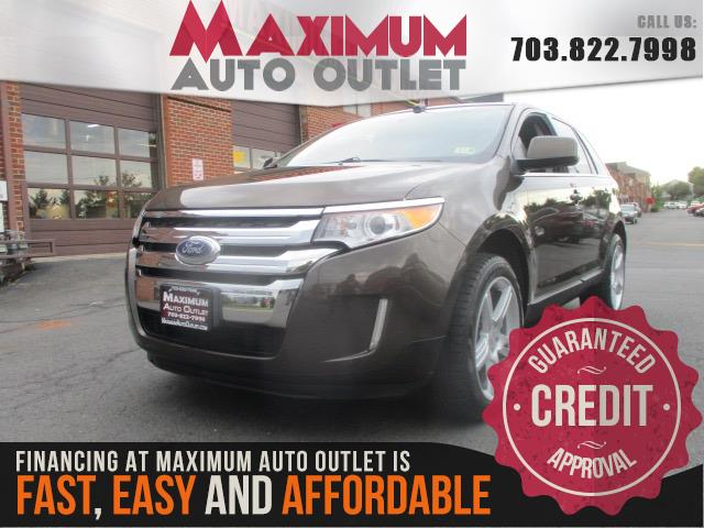 2011 ford edge limited awd manassas park virginia maximum auto outlet va 20111. Black Bedroom Furniture Sets. Home Design Ideas