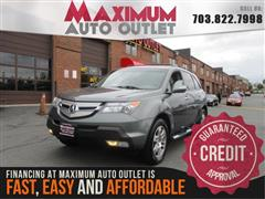2008 ACURA MDX TECHNOLOGY PACKAGE AWD with NAV & THIRD ROW