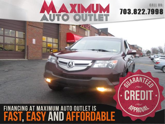2008 ACURA MDX SH AWD With Technology Package