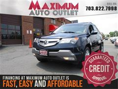 2009 ACURA MDX TECHNOLOGY PACKAGE AWD with NAV & THIRD ROW