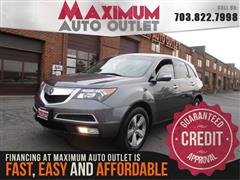 2011 ACURA MDX TECHNOLOGY PACKAGE AWD with NAV & THIRD ROW