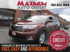 2015 TOYOTA HIGHLANDER AWD Limited w 3rd Row Seat