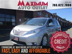 2011 TOYOTA SIENNA LIMITED with Navi/DVD/Dual Roofs